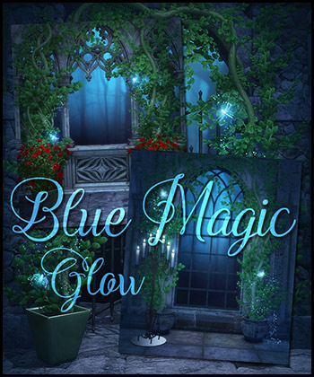 Blue Magic Glow 2