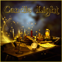 Candle Light PNG Tubes