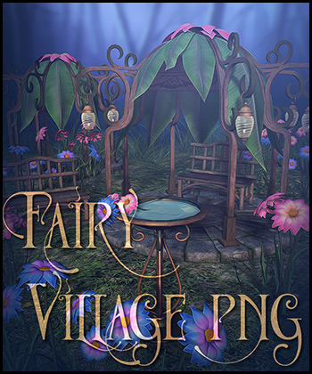 Fairy Village Png