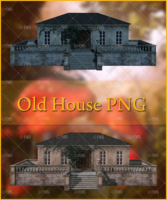 Old House Png