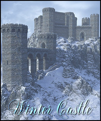 Winter Castle Backgrounds