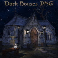 Dark Houses PNG
