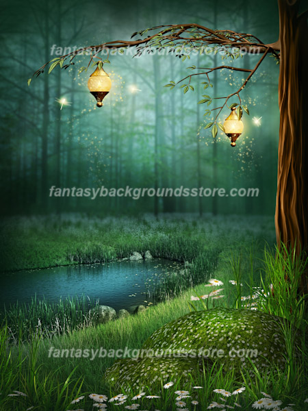 Fairy backgrounds ancient magic - Enchanted garden collection free download ...