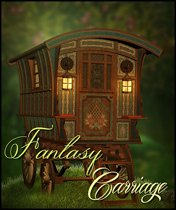 Fantasy Carriage PNG