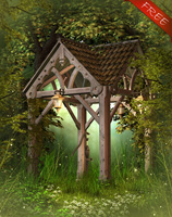 Fantasy Wood Free Background