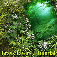 Grass layers plus tutorial