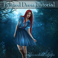 Painted Dress Tutorial