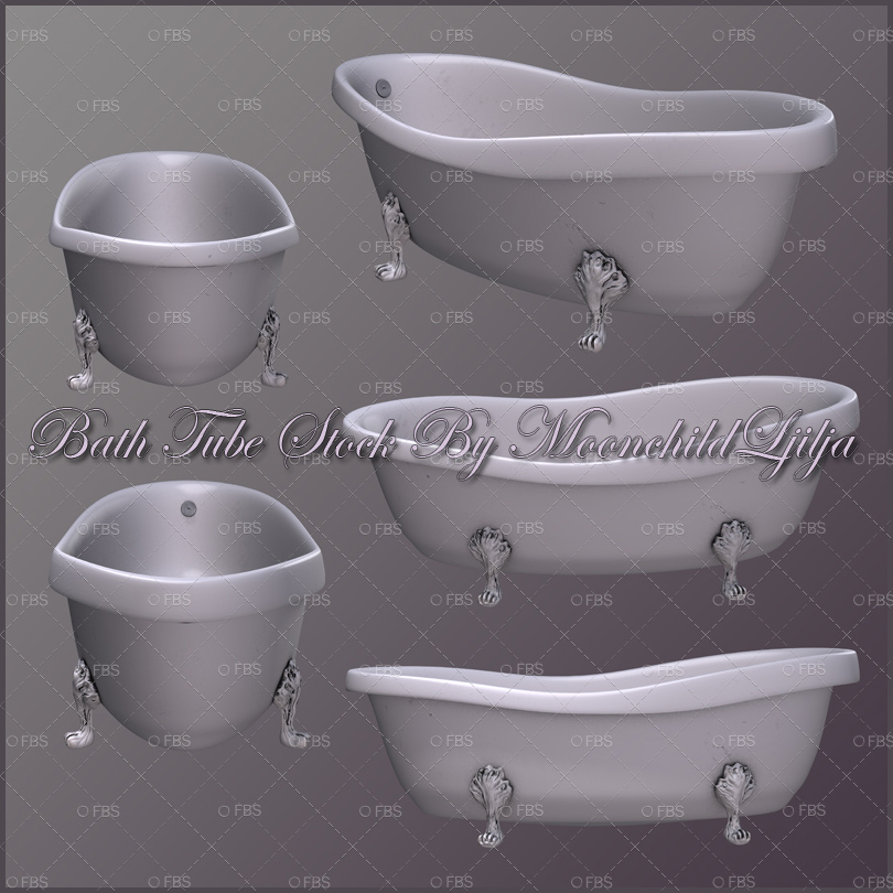 Bath Png Tubes - $2.00