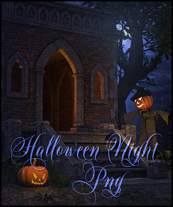Halloween Night Png