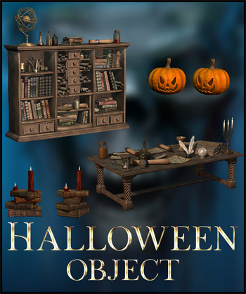 Halloween Objects Png