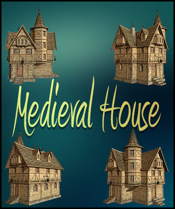 Medieval House Png