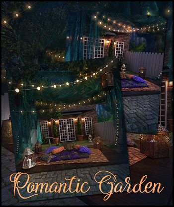 Romantic Garden New
