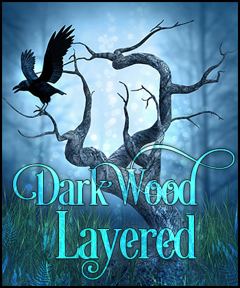 Dark Wood With Layers