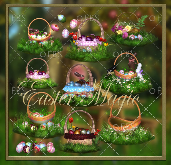 Magic Easter PNG