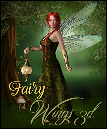 Fairy Wings 3D