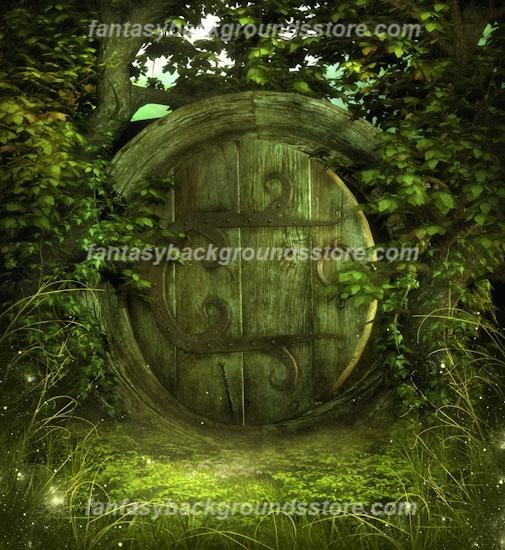 Digital Fantasy Backgrounds-Forbidden Garden Of Fantasies
