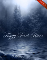 Dark Foggy River