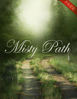 Misty path freebie