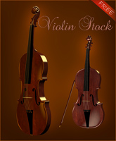 Violin Object freebie