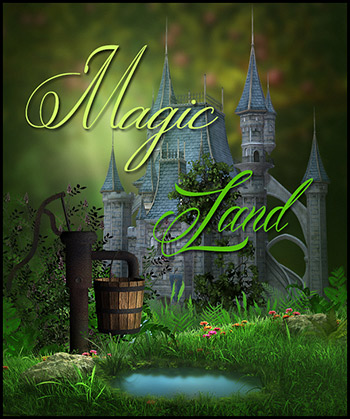 Magic Land PNG