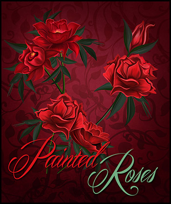 Painted Roses
