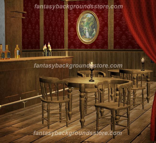 digital backgrounds saloon girl old west. Black Bedroom Furniture Sets. Home Design Ideas