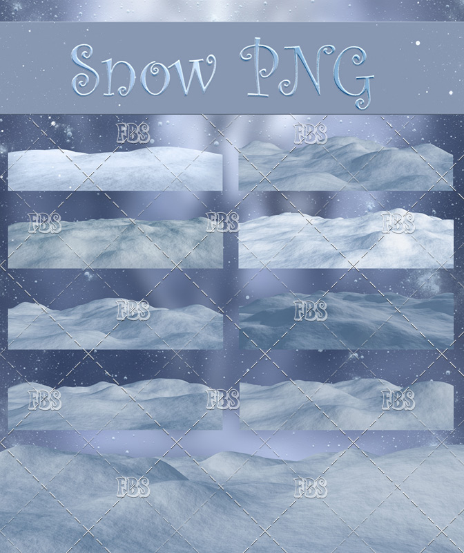 Snow PNG
