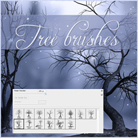 Trees Brushes
