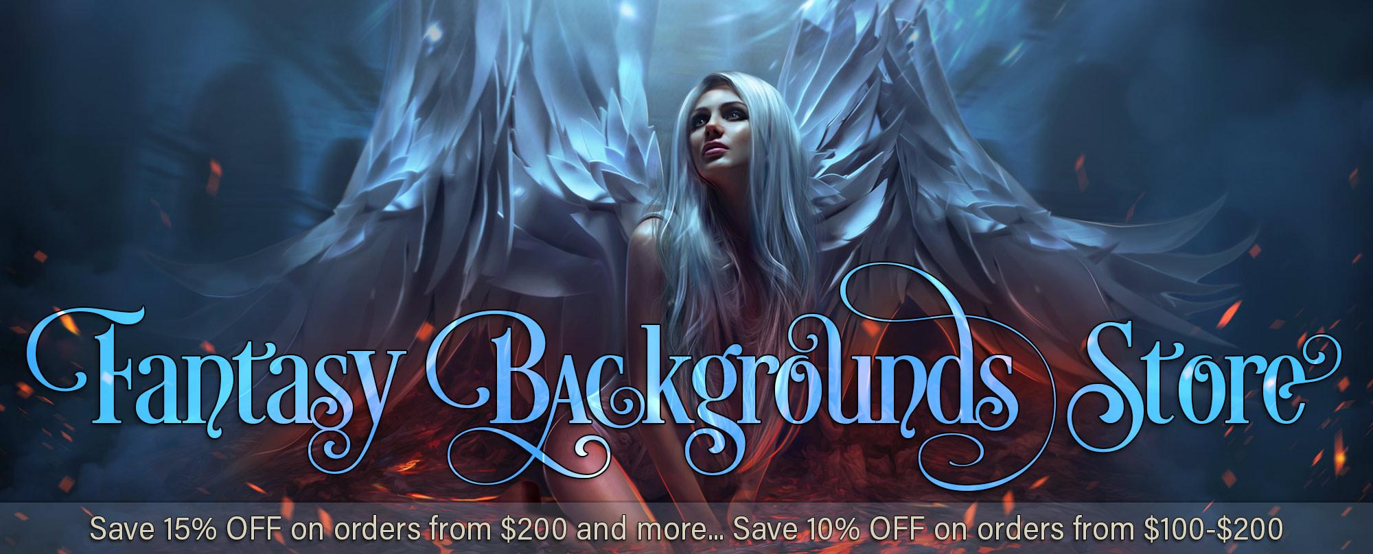 Fantasy Backgrounds Store Best fantasy digital backgrounds png